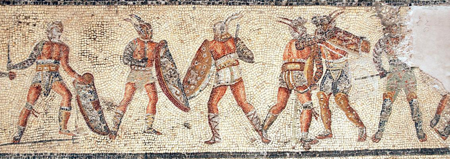 Gladiators_from_the_Zliten_mosaic_4